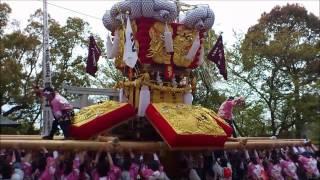 高屋神社大祭 春のちょうさ祭り.