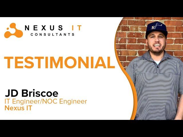 Nexus IT Testimonials: JD Briscoe   Nexus IT Consultants  