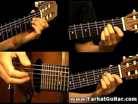 The unforgiven - Metallica Guitar Cover www.FarhatGuitar.com