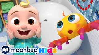 COCOMELON - Itsy Bitsy Spider! | Learn | ABC 123 Moonbug Kids | Fun Cartoons | Learning Rhymes
