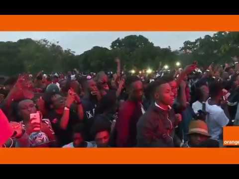 BOOBA en concert à Abidjan