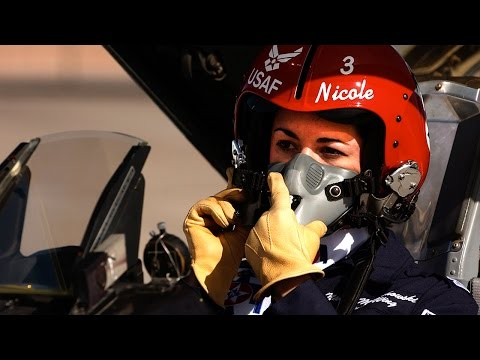 First Female Thunderbird Pilot | U.S. Air Force