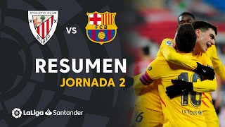 Resumen de Athletic Club vs FC Barcelona (2-3)