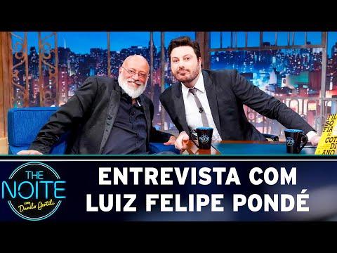 Entrevista com Luiz Felipe Pondé  The Noite 060519
