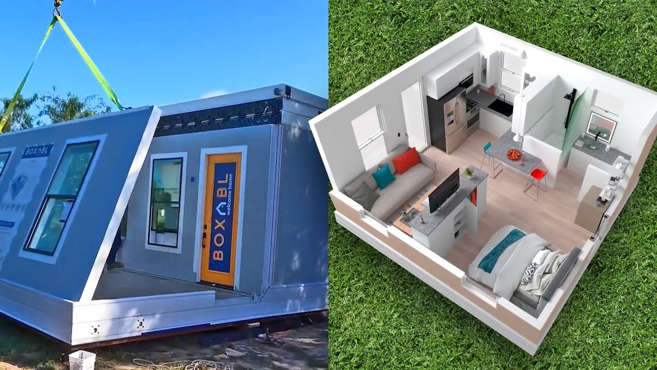 Check out this FOLDABLE K tiny house ?