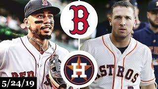 Boston Red Sox vs Houston Astros - Full Game Highlights | May 24, 2019 | 2019 MLB Season
