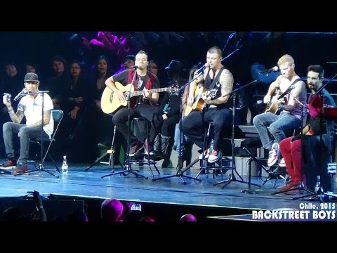 Backstreet Boys - Chile, 2015