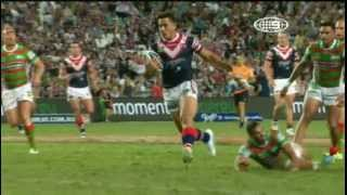 NRL 2013  l Round 1 Highlights: Roosters v Rabbitohs