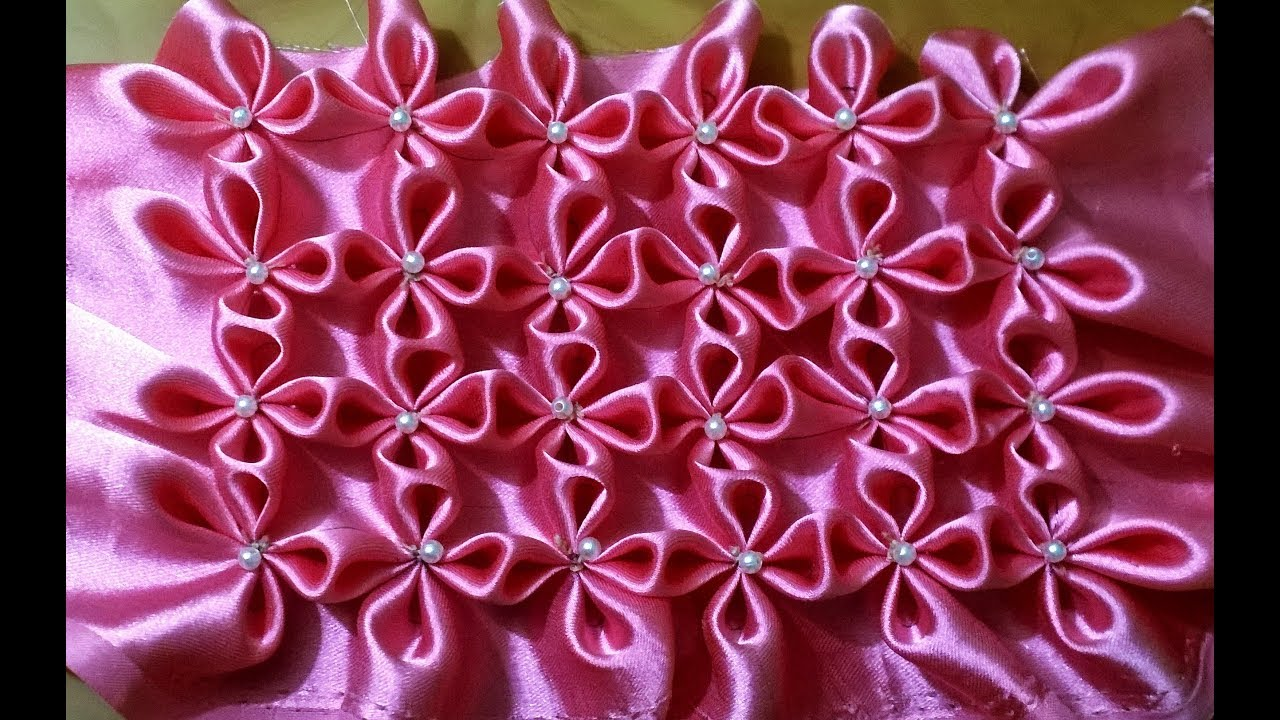 Canadian Smocking Design Tutorial --7 For Very Beginners