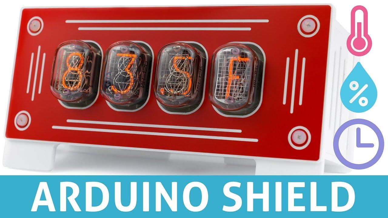 Arduino Shield Makes Driving Nixies Easy   iJailbreak