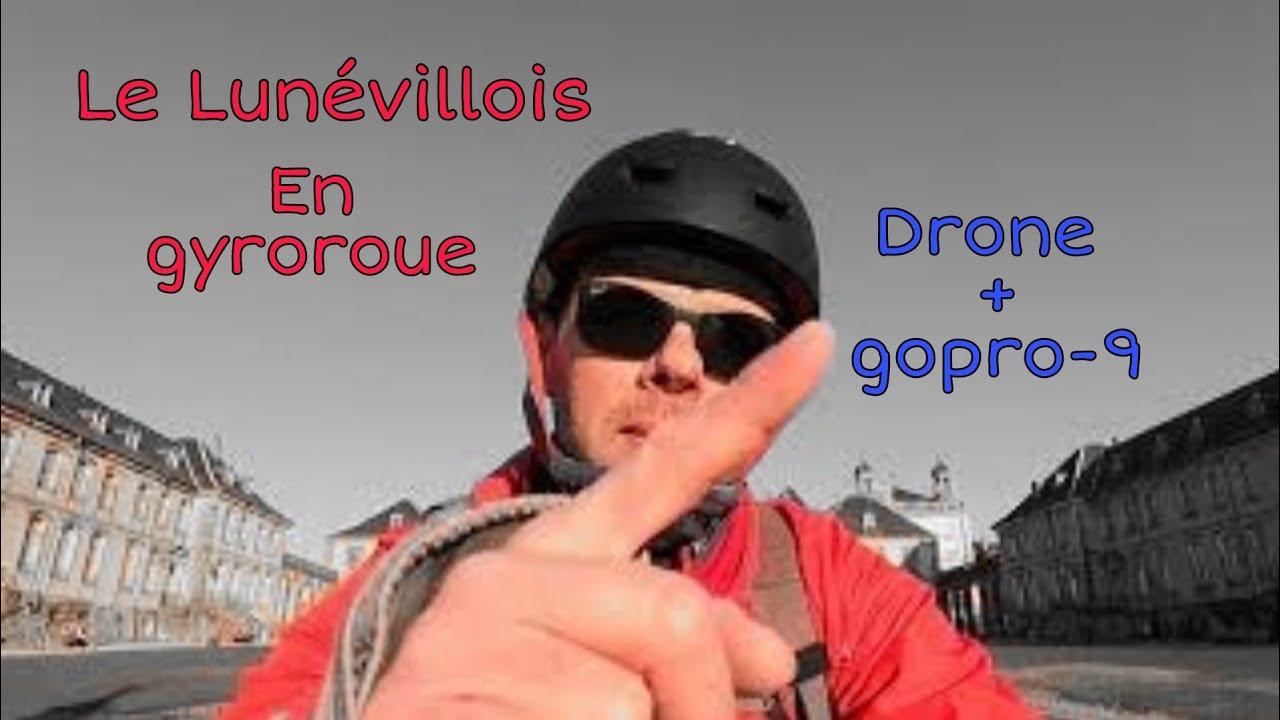 Le Lunévillois... En gyroroue ! - Monowheel in Lunéville