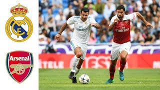 Real Madrid Legends v Arsenal Legends | Goals and highlights