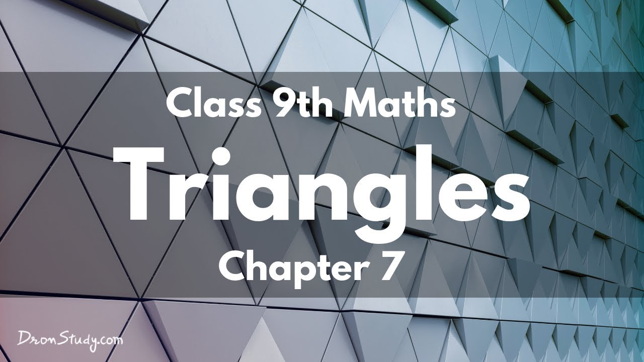 Triangles : Exercise 7 3 (Mathematics NCERT Class 9th
