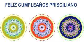 Prisciliano   Indian Designs - Happy Birthday
