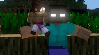 herobrine's son life film - minecraft animation
