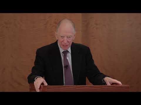 Lord Rothschild presentation 8 Nov 2018 Sothebys NYC