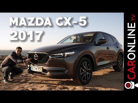 JÁ CHEGOU O MAZDA CX-5 2017 [Review Portugal]