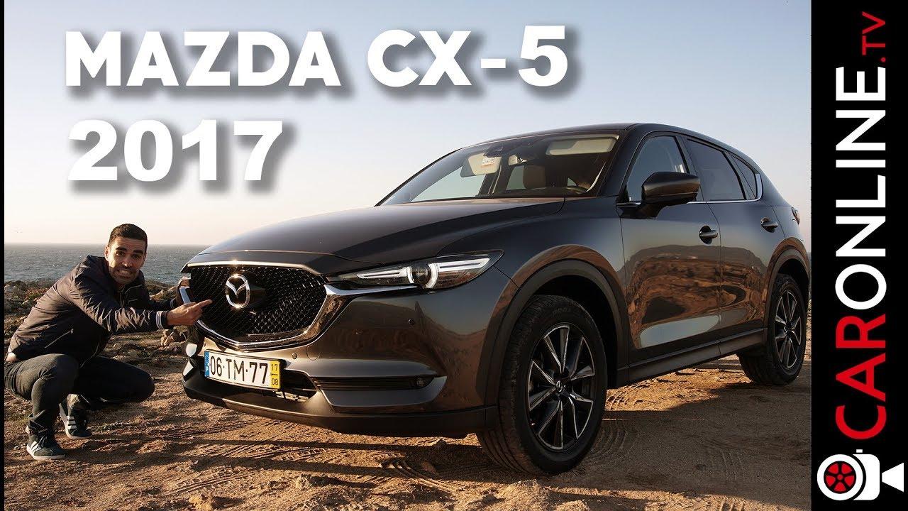 JÁ CHEGOU O MAZDA CX 5 2017 [Review Portugal]