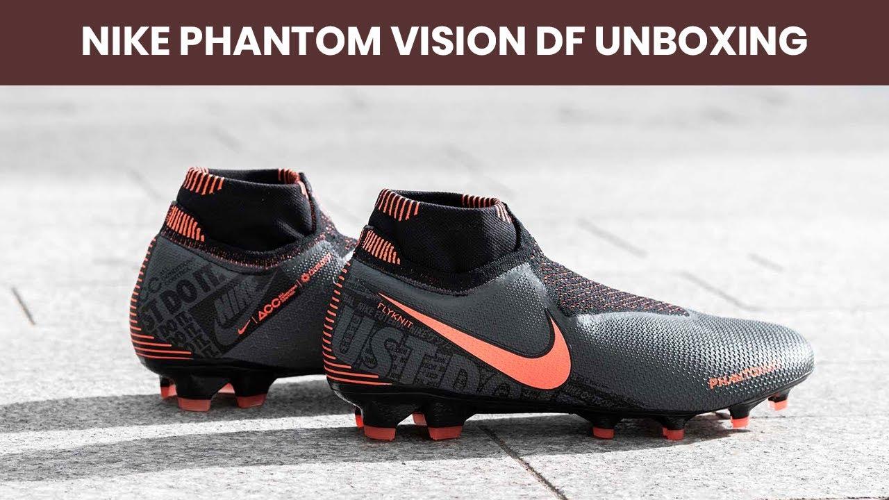 Unboxing Nike Phantom Vision Elite FG Fire Pack
