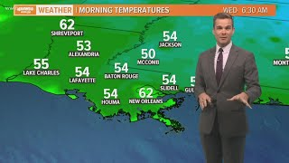 Payton's Friday Forecast: Warm weekend then cold fronts arrive next week