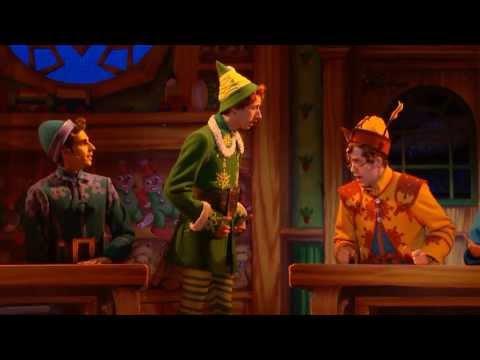 ELF Broadway/Musical - Christmastown scene