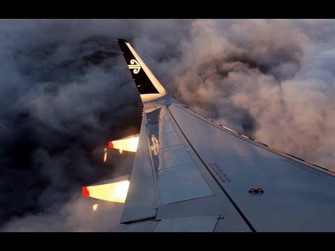 Christchurch to Auckland   Air New Zealand A320