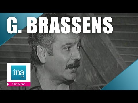 """Georges Brassens """"Les copains d'abord"""" 