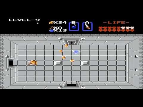 Legend of Zelda NES Full walkthrough