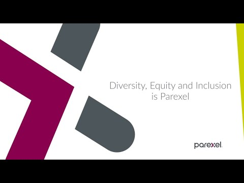 Diversity, Equity and Inclusion is Parexel