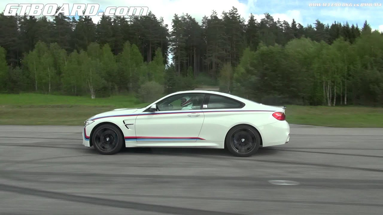 bmw m4 vs bmw m3 e90 v8 dkg youtube. Black Bedroom Furniture Sets. Home Design Ideas