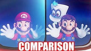 Super Mario Odyssey: Changes in Opening Trailer Since Revealed (Graphics & Other Changes COMPARISON)