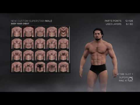 PS4 wwe 2K17 Create a wrestler with 2nd Attire - Live Stream (Quick view before released)