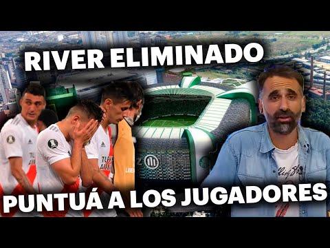 RIVER, ELIMINADO DE LA COPA LIBERTADORES - PUNTUÁ A LOS JUGADORES