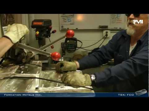 Formation Metals Corporate Video July 2012