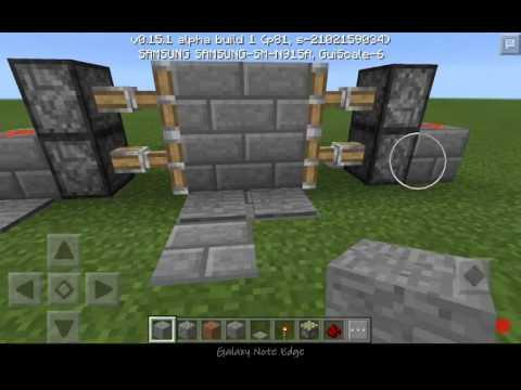 Как сделать в minecraft дверь 876