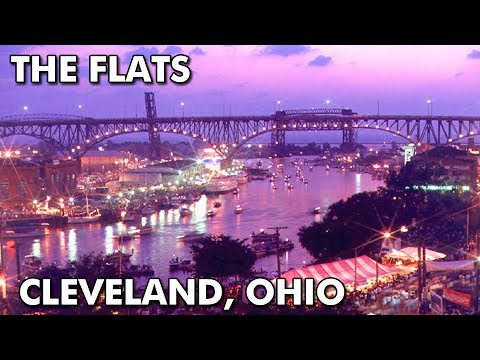 The Flats in Cleveland, Ohio (1980's & 1990's)