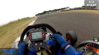 Crail practice on 27/07/2013 - Fun with chin cam.