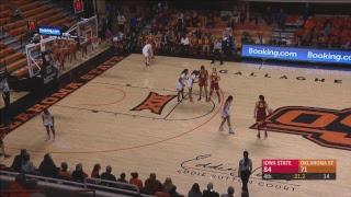 Oklahoma State Cowgirl Basketball Vs.  Owa State