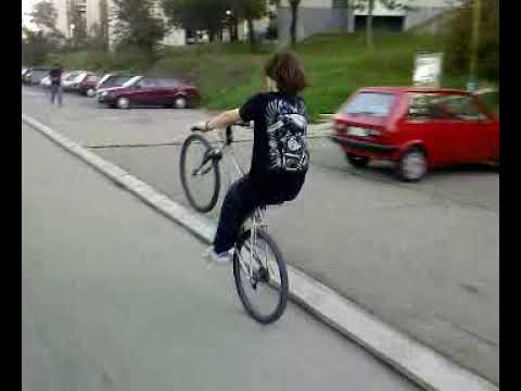 IVAN RIDE ON BACK WHEEL (BOR-SERBIA)