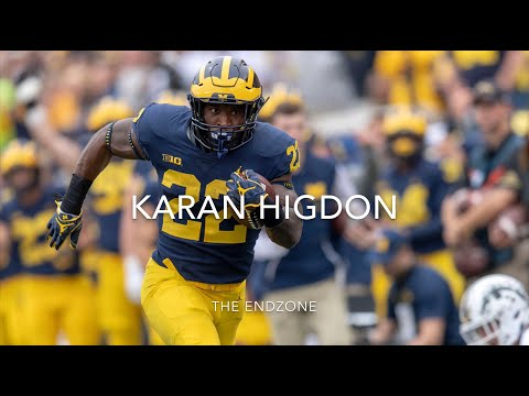 low priced 3e819 5b428 KARAN HIGDON (Michigan RB) 18-19 HIGHLIGHTS - YouTube