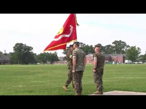 MCIEAST MCB CAMLEJ Change of Command Ceremony