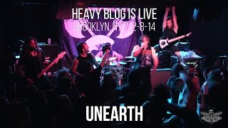 Unearth: Live in Brooklyn, NY 12-8-14 (FULL SET)