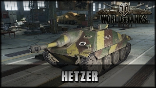 World of Tanks - Live Jagdpanzer 38 t Hetzer deutsch gameplay