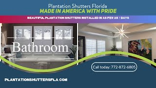 Building Plantation Shutters In South Florida