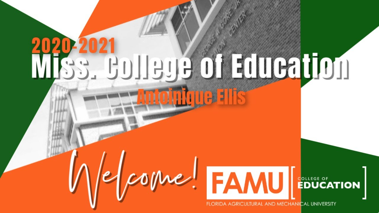 FAMU College of Education | Miss. Antoinique Ellis | HBCU | FAMU