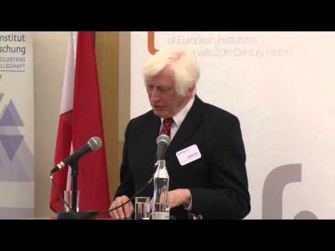Richard Overy's keynote speech during the 4th European Remembrance Symposium in Vienna