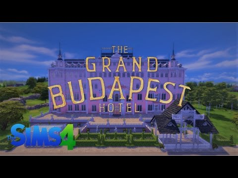The Grand Budapest Hotel - Sims 4 Lets build - Part 1