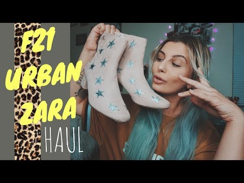 FOREVER 21, URBAN OUTFITTERS, ZARA TRY ON HAUL
