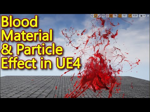 Unreal engine | Blood Material and Particle Tutorial | CGHOW