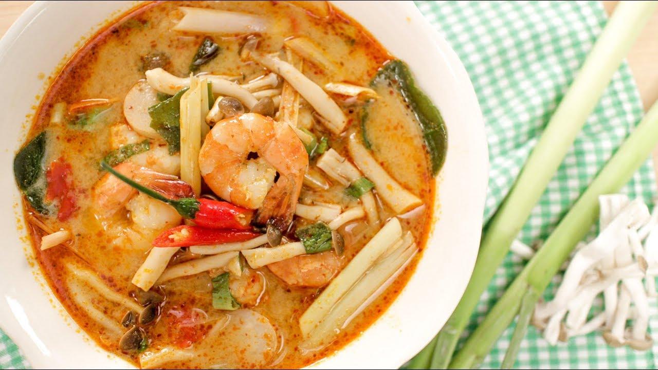 Tom Yum Goong Recipe (Creamy Style!) ต้มยำกุ้งนำ้ข้น ...